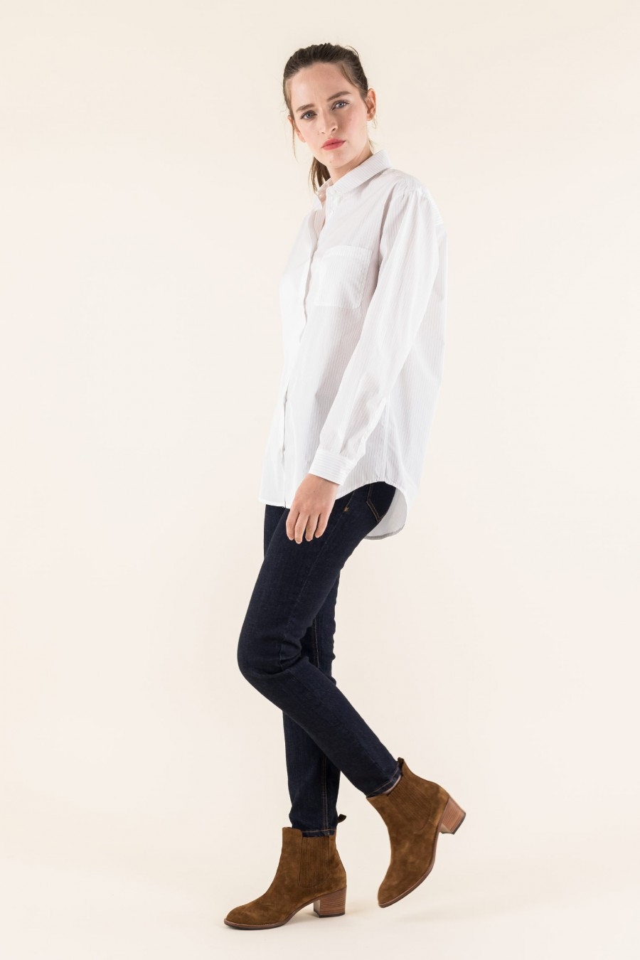 Male fitted shirt