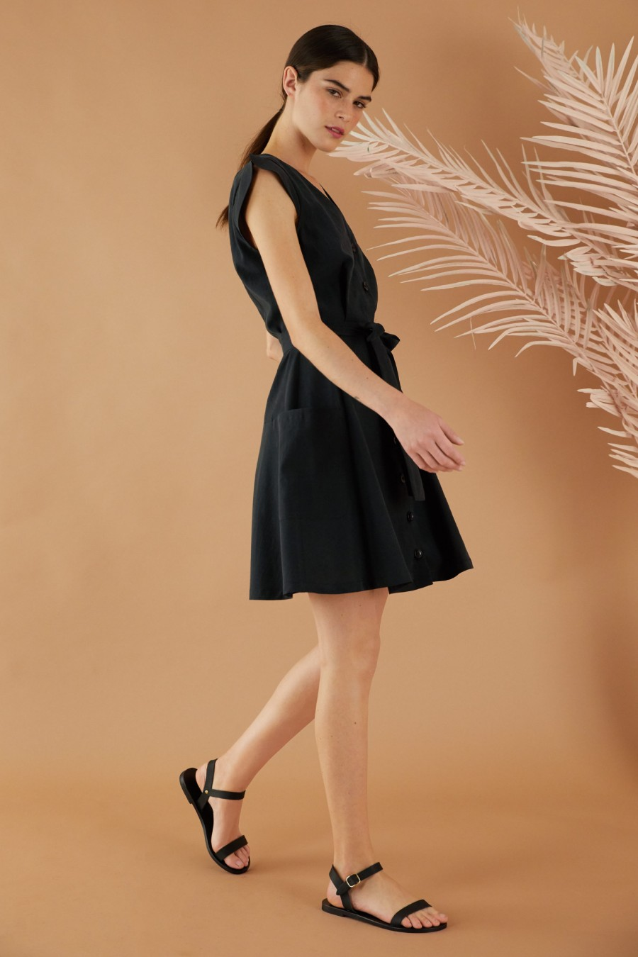 Lazzari black dress