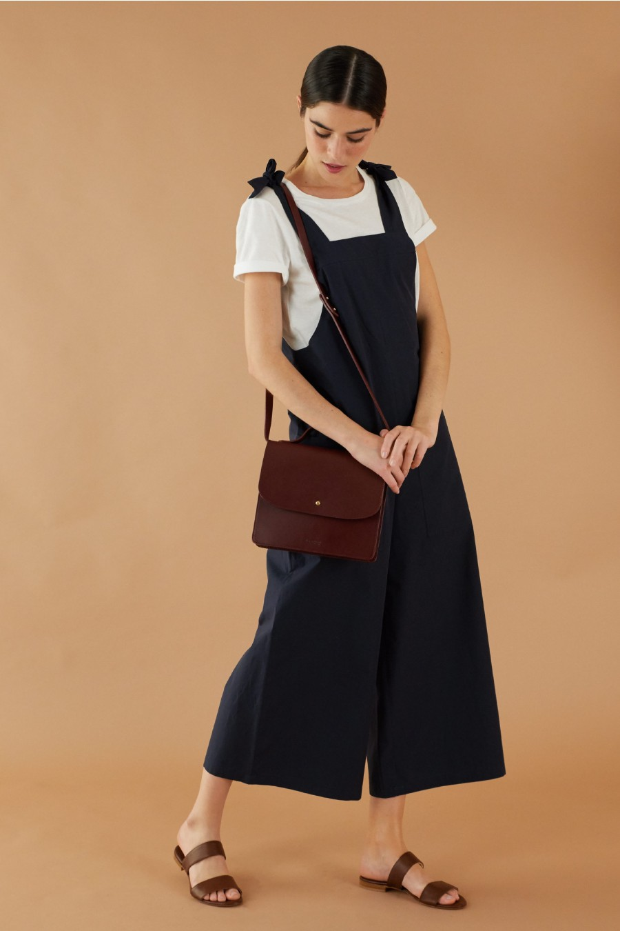Blue summery dungarees