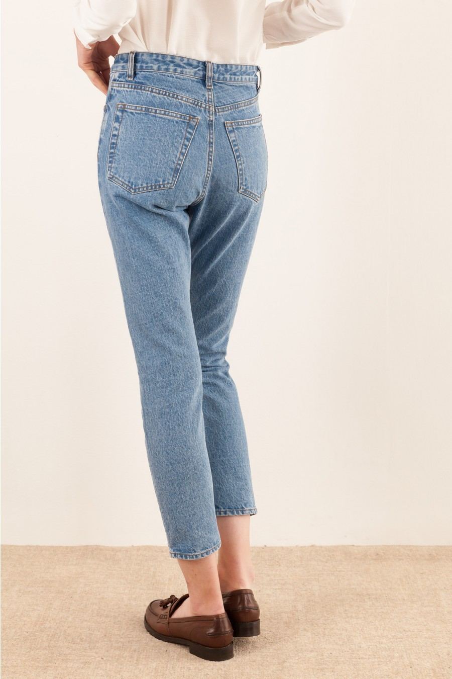selvage jeans high waist