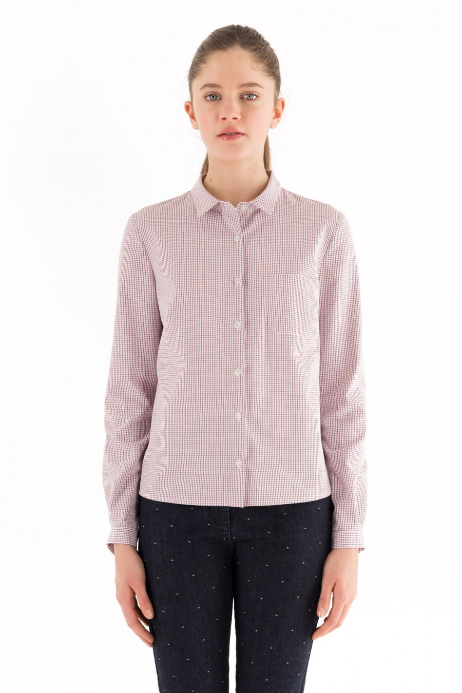 tomboy shirt cotton Lazzari