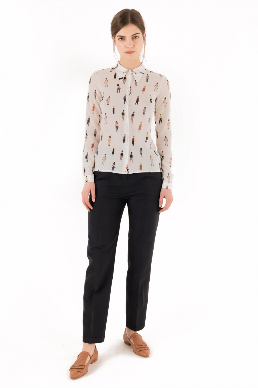 Camicia donna con pattern Kate Pugsley