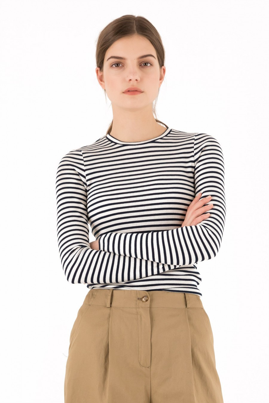 Lazzari striped shirt