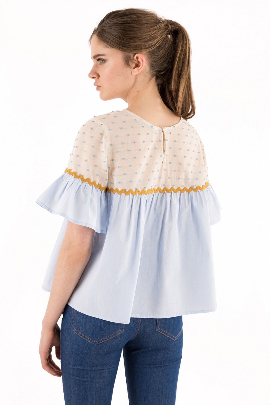 Blouse illustrated by Kate Pugsley