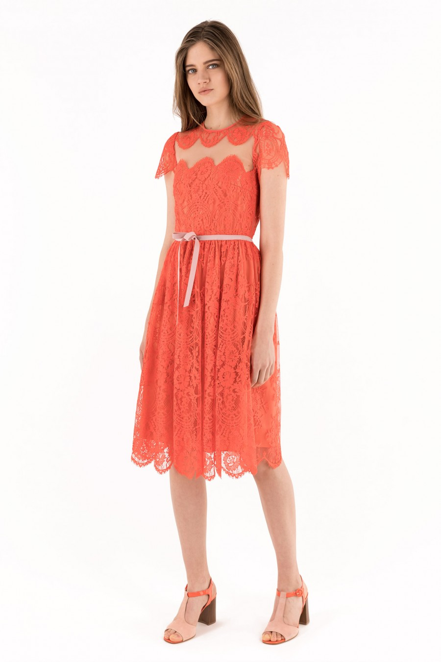 Made in Italy lace dress