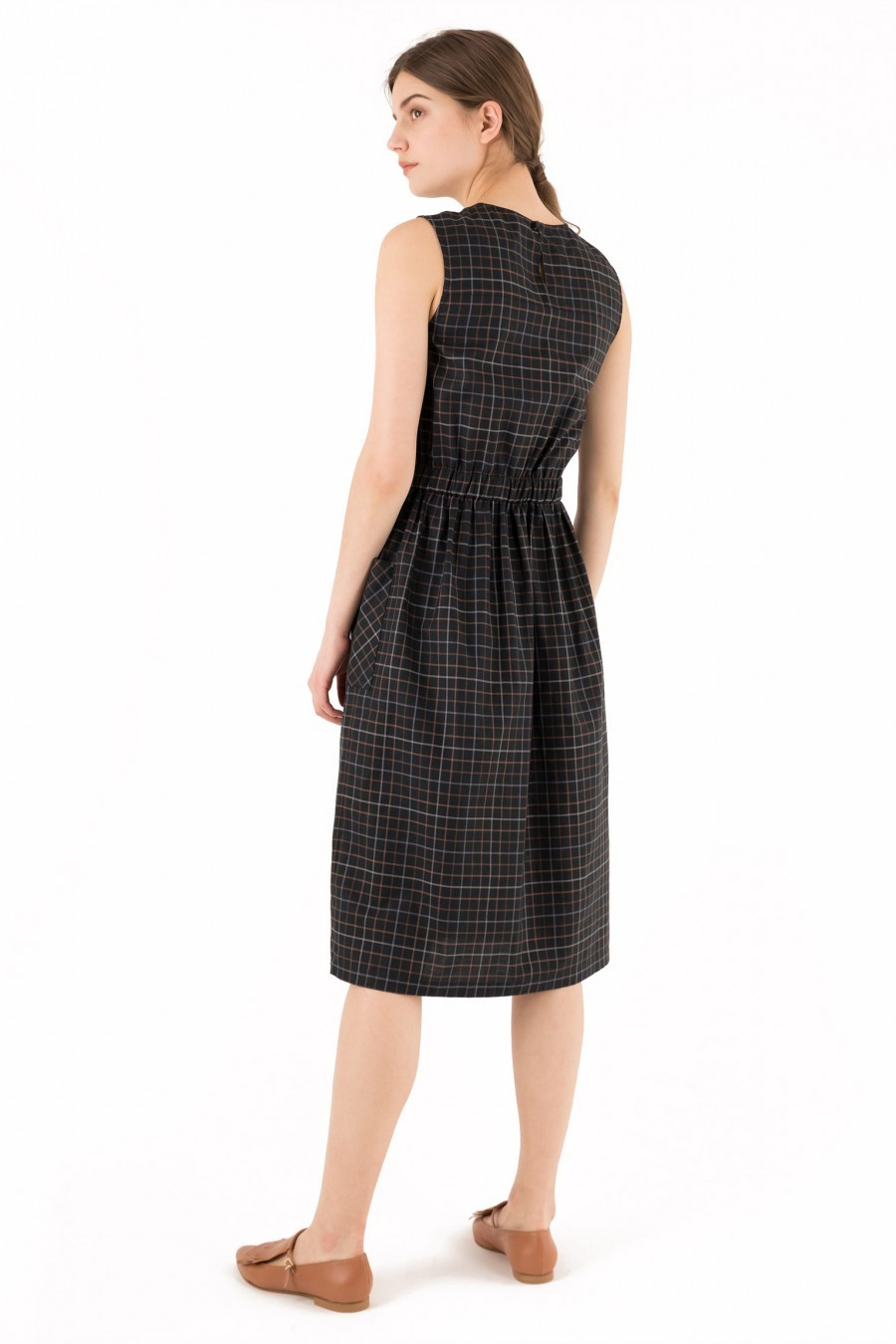midi dress black Lazzari