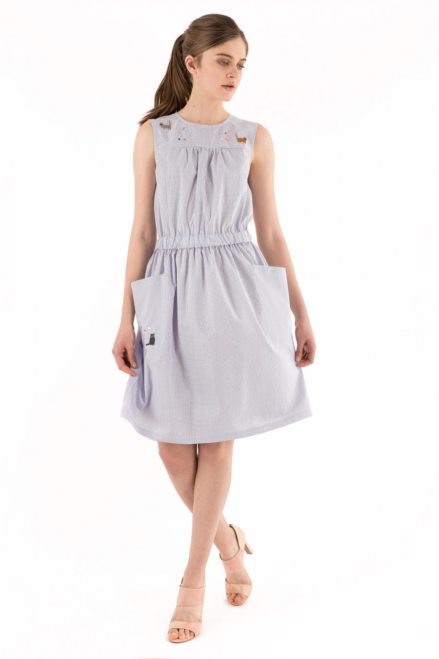Cotton made in Italy dress