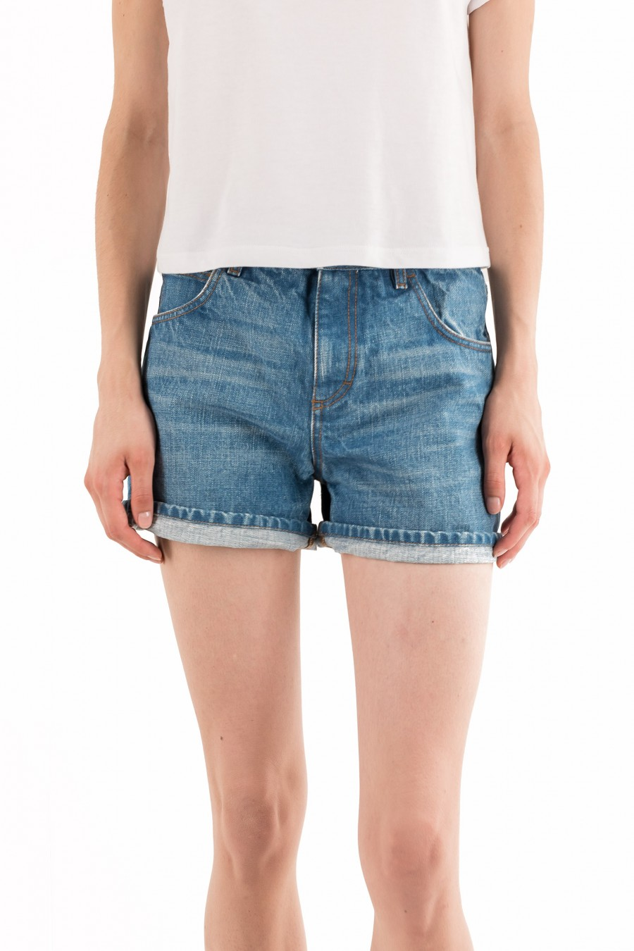 Shorts in jeans semplici