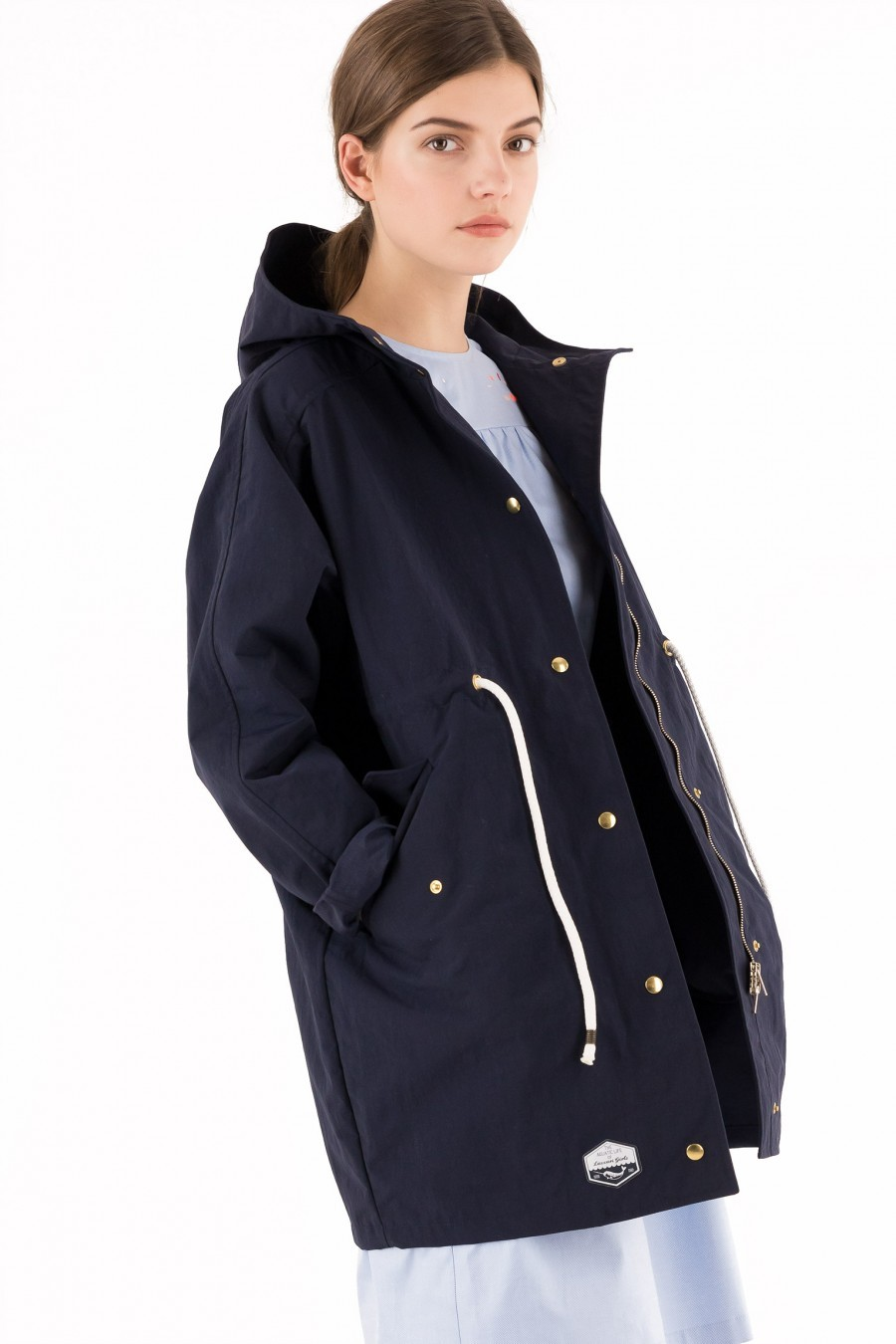 raincoat blue Lazzari