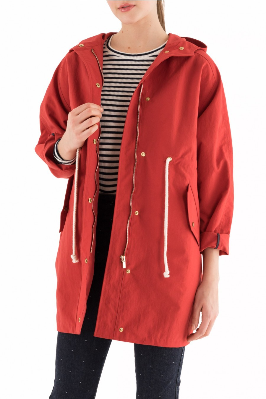 red spring jacket lazzari