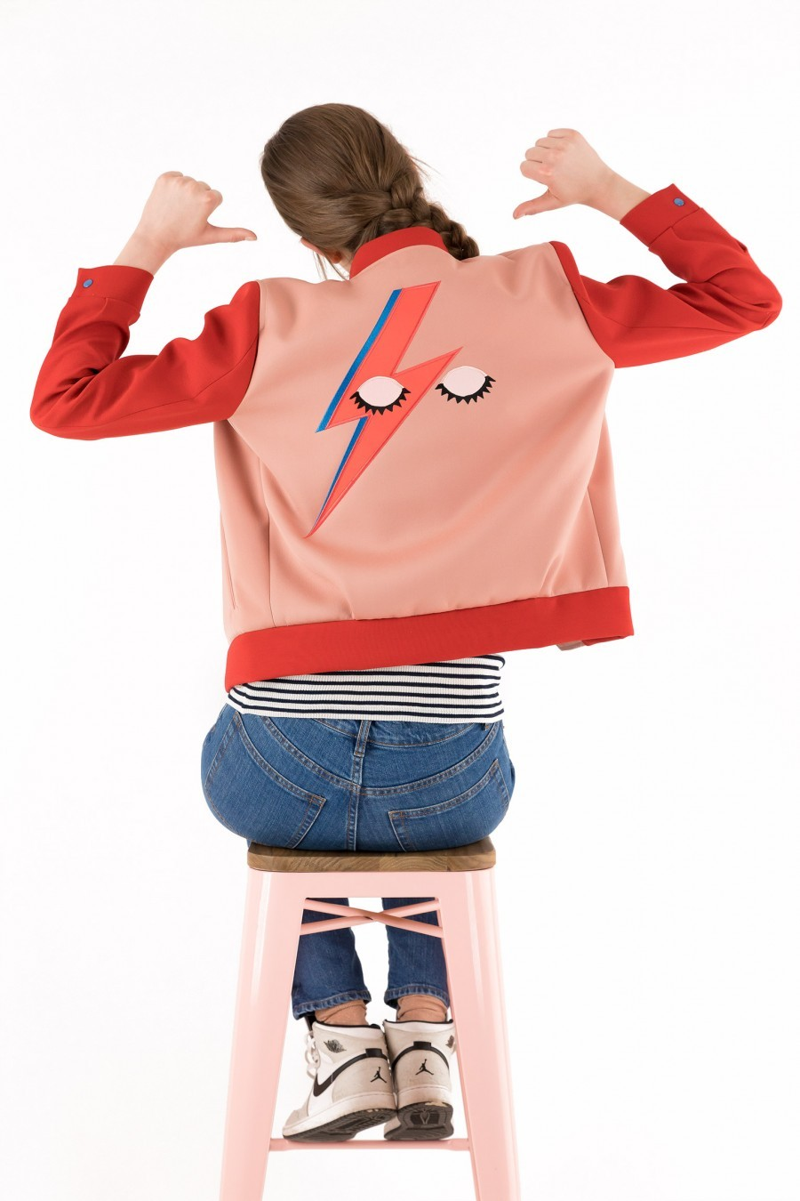 Varsity Jacket Lazzari Glam