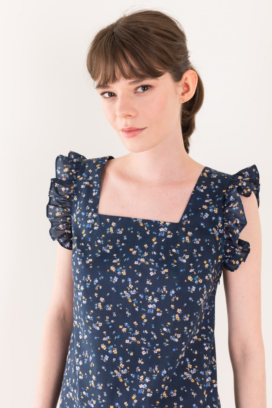 Blue Liberty Fabrics dress