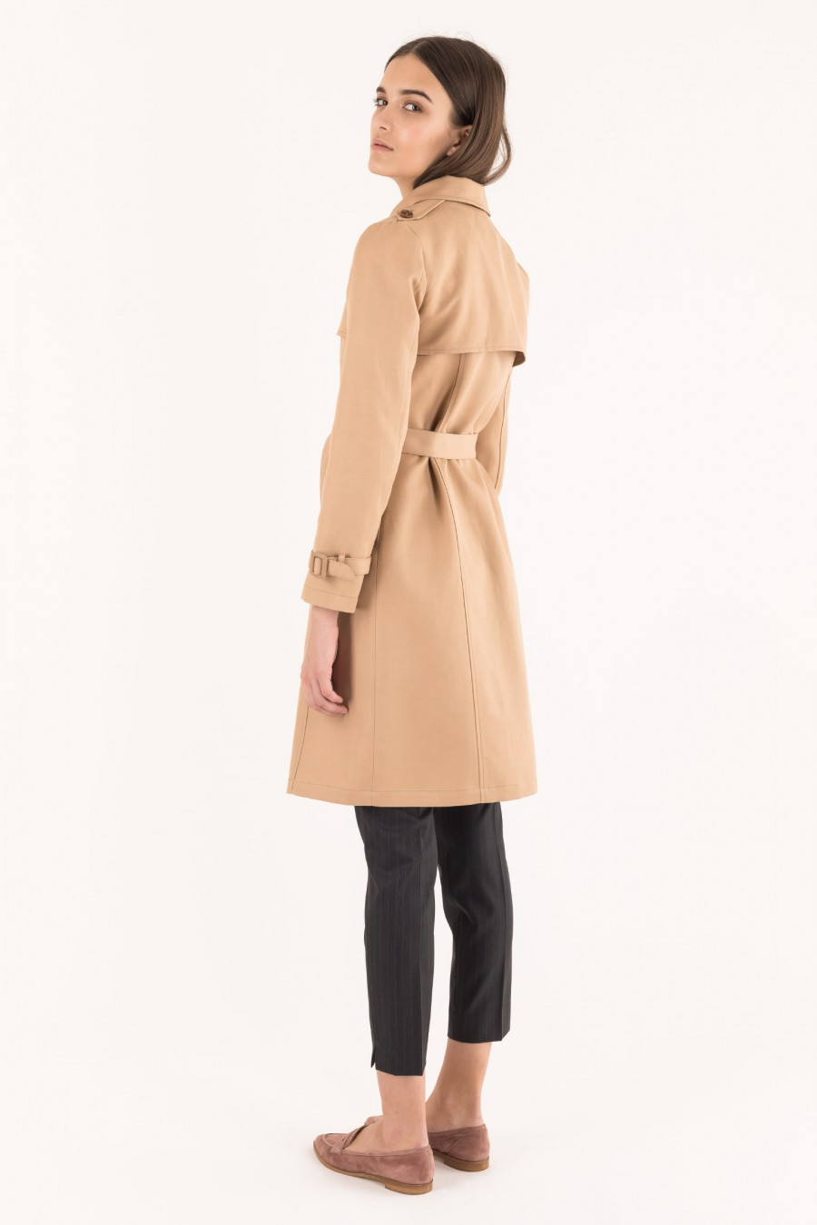 Casual beige coat