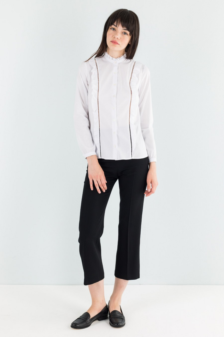White western Lazzari shirt