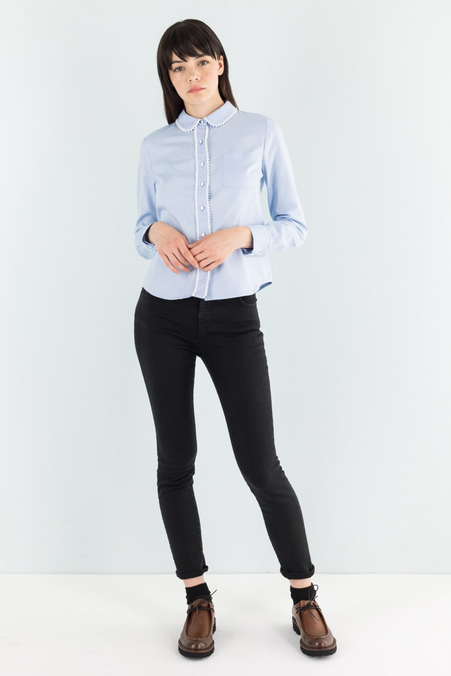 Bon-ton light blue shirt