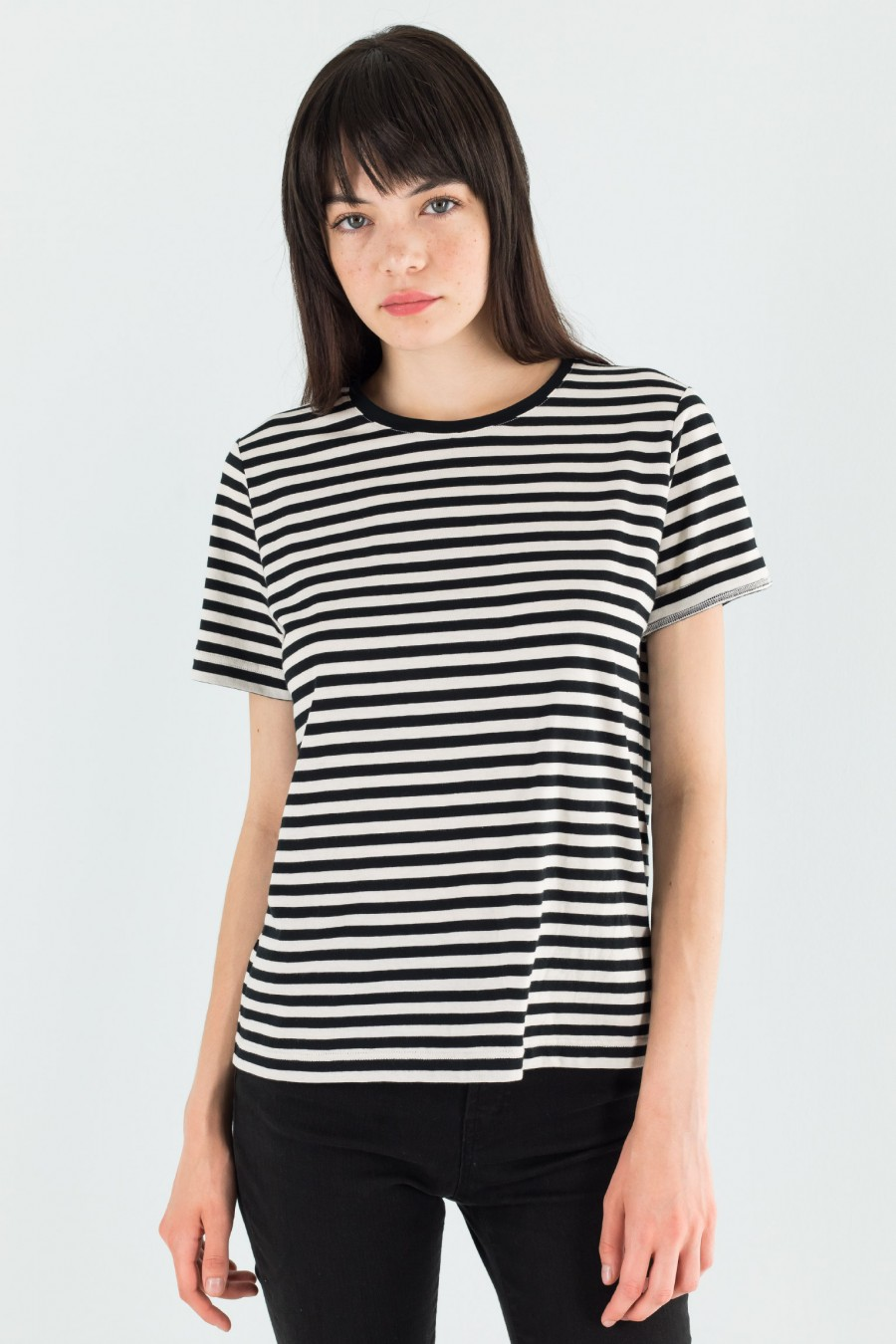 Lazzari stripy t-shirt