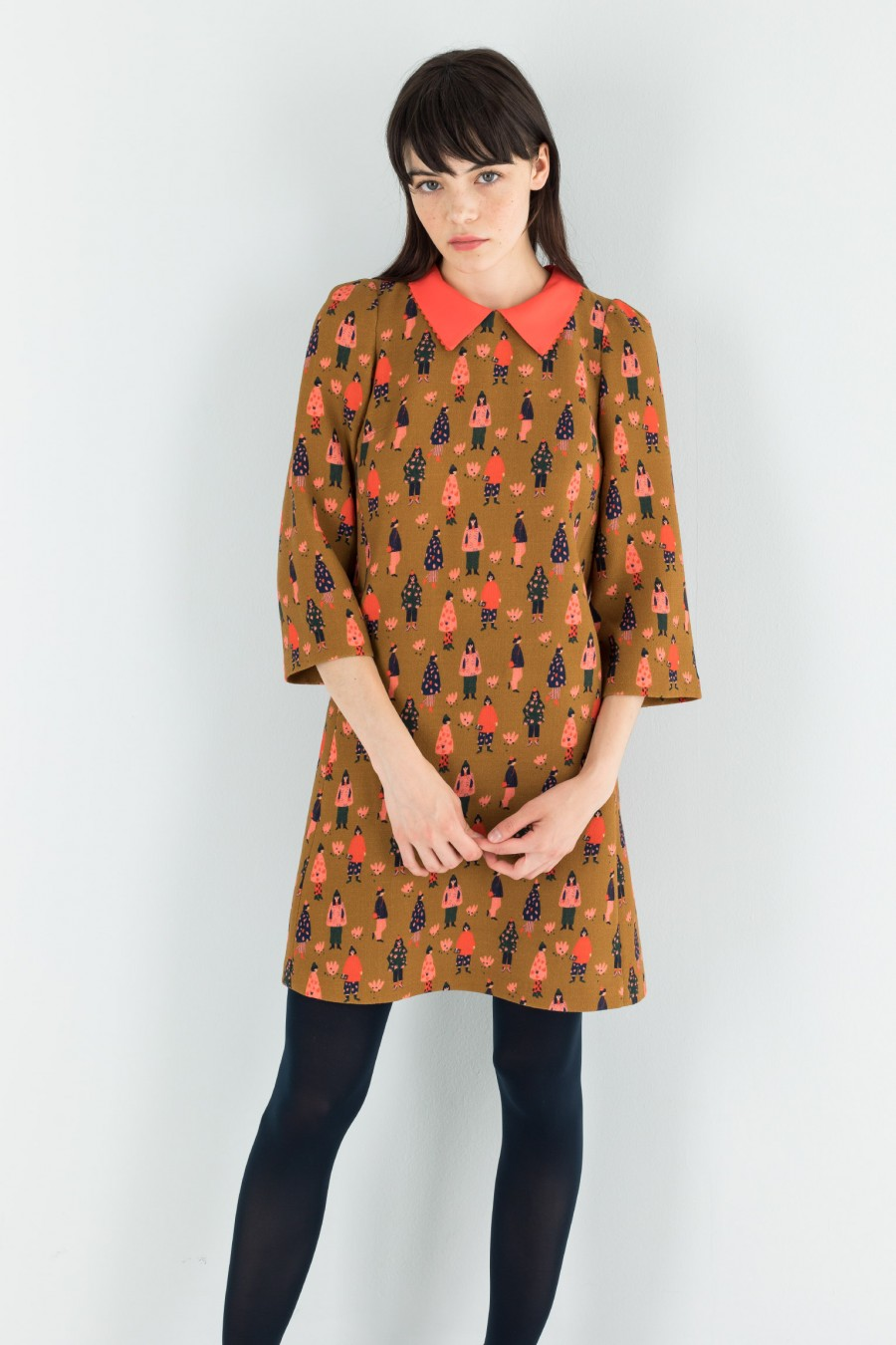 60s dress with pockets
