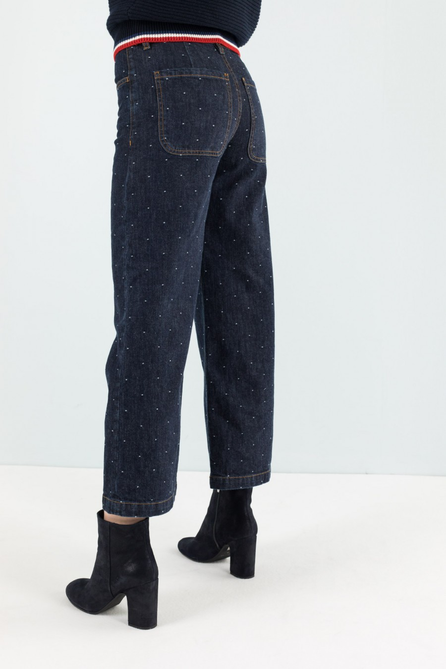 Lazzari denim culotte fall winter