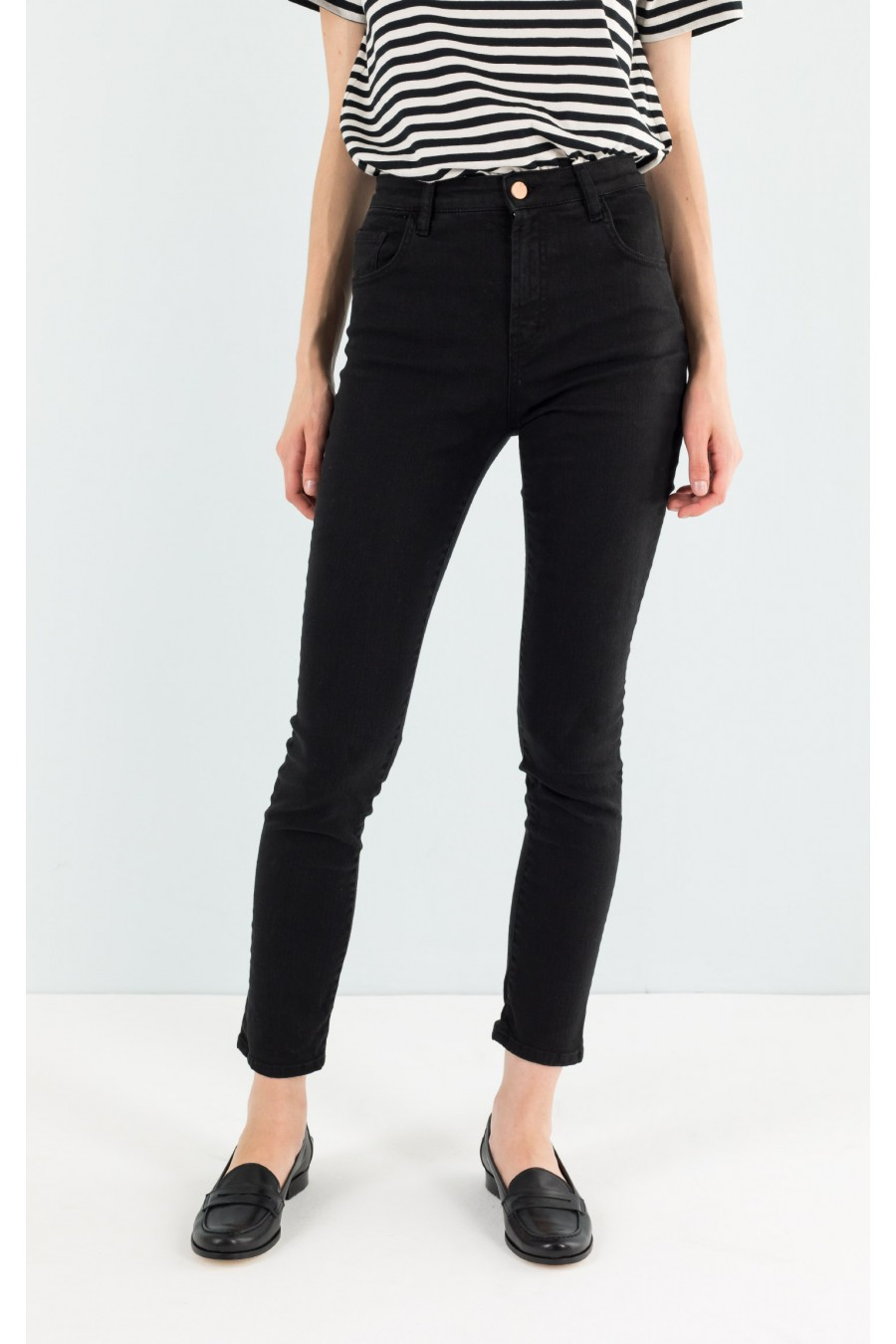 Slim off black jeans
