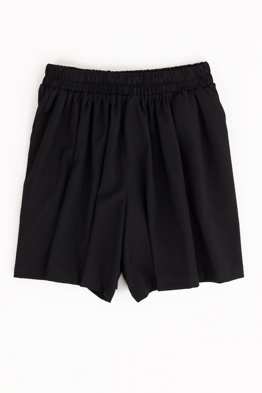 Black mini culotte