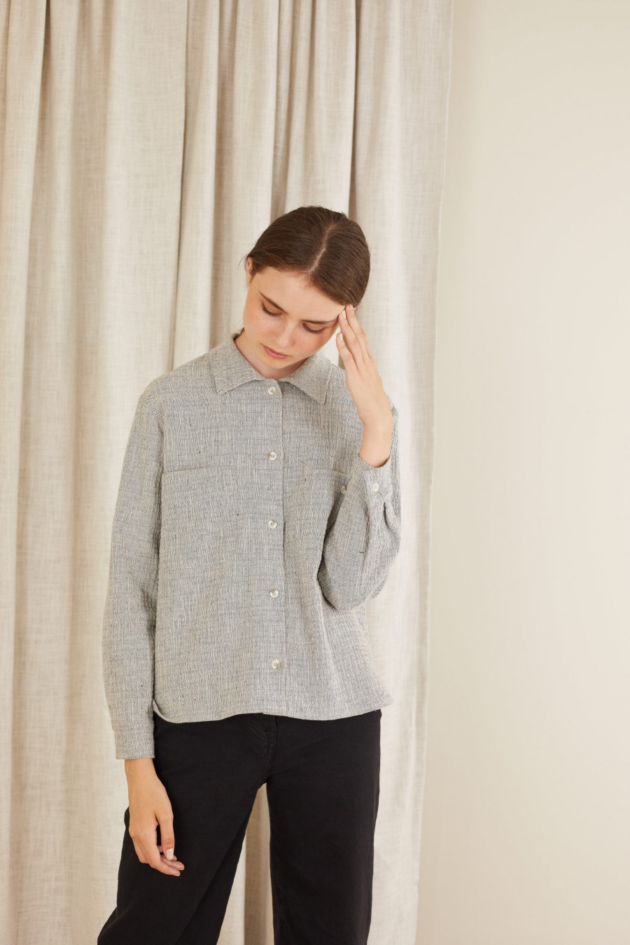 lange shirt for autumn