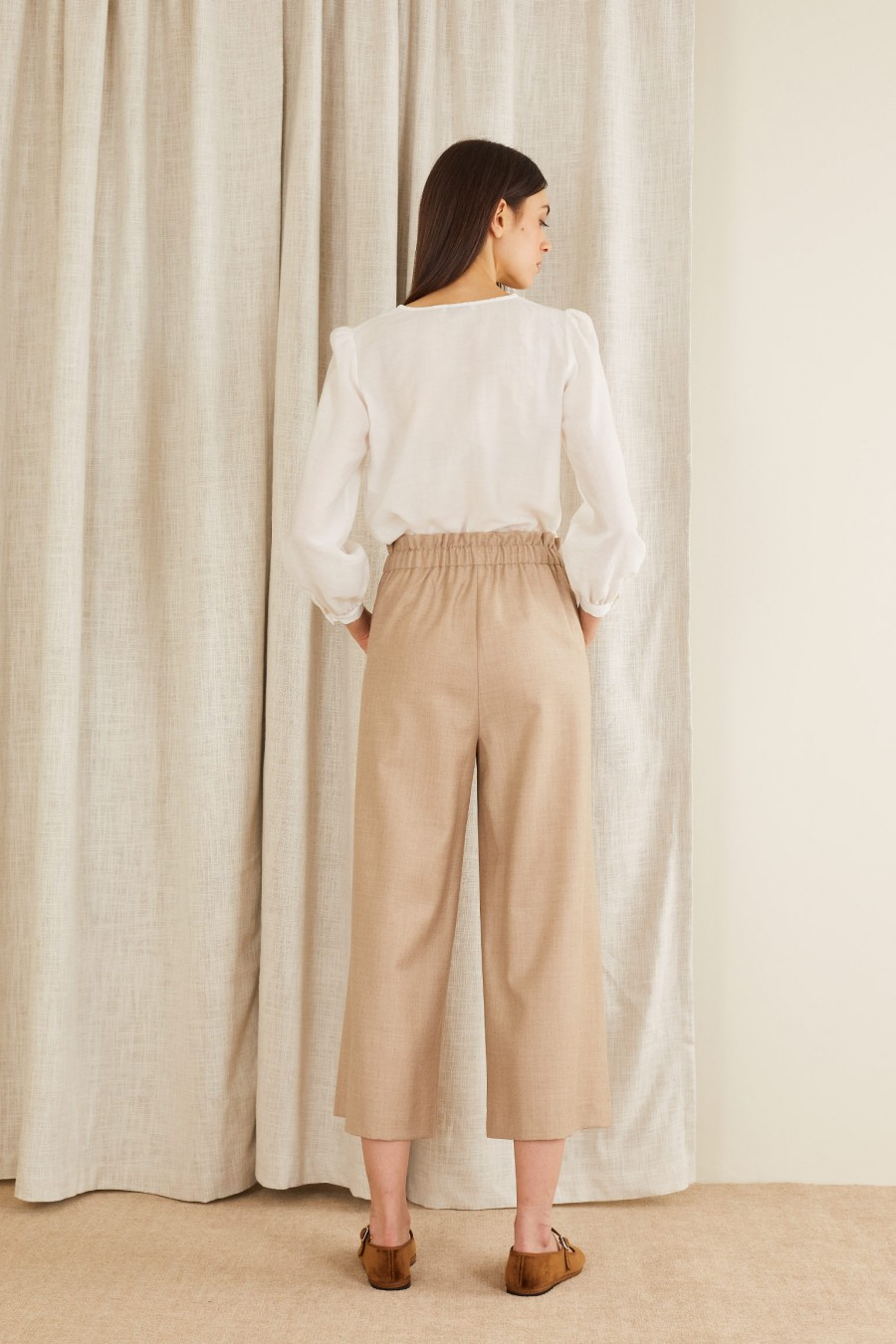 casual and comfortable culottes trousers