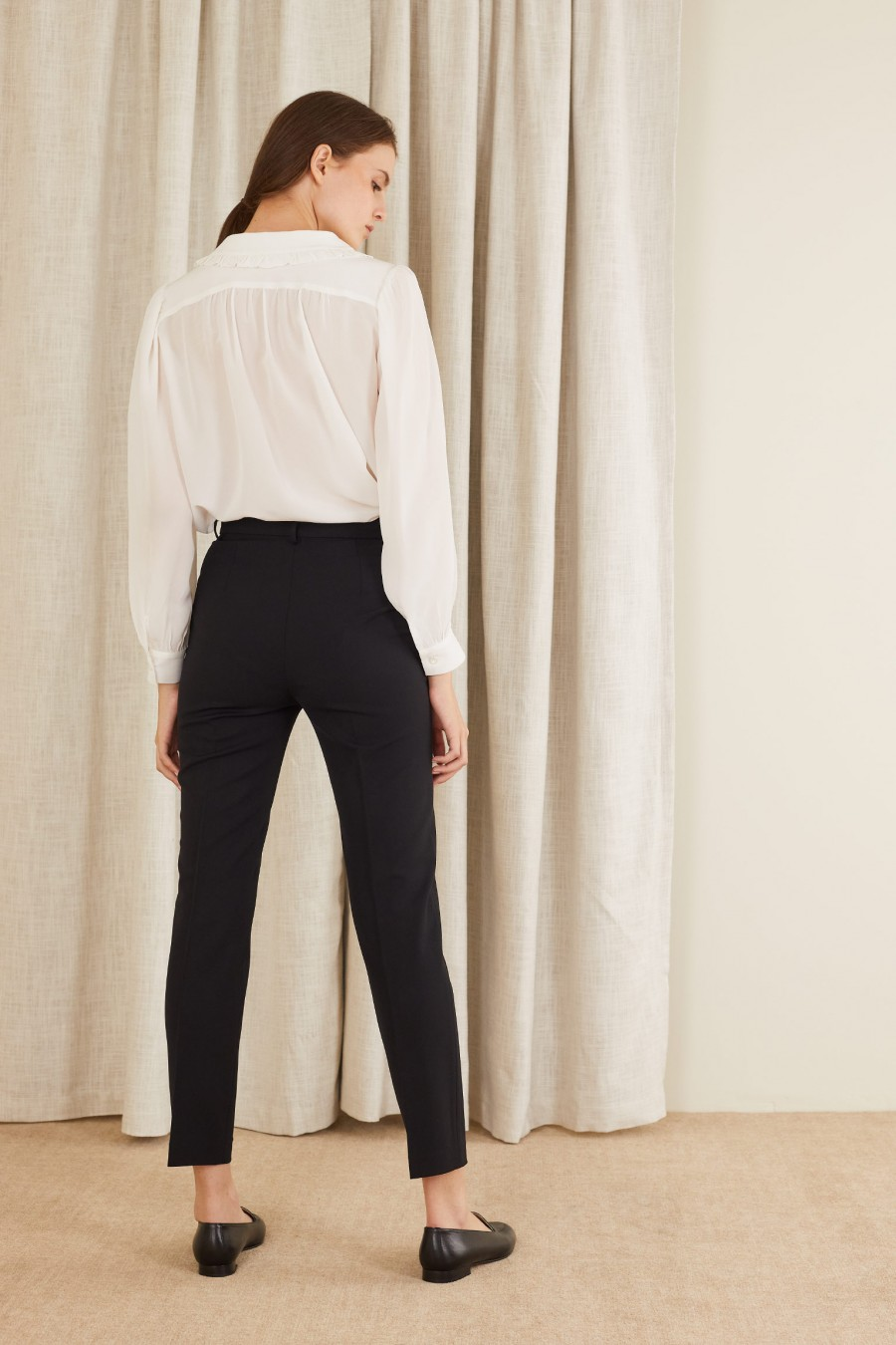 cigarette trousers for the office
