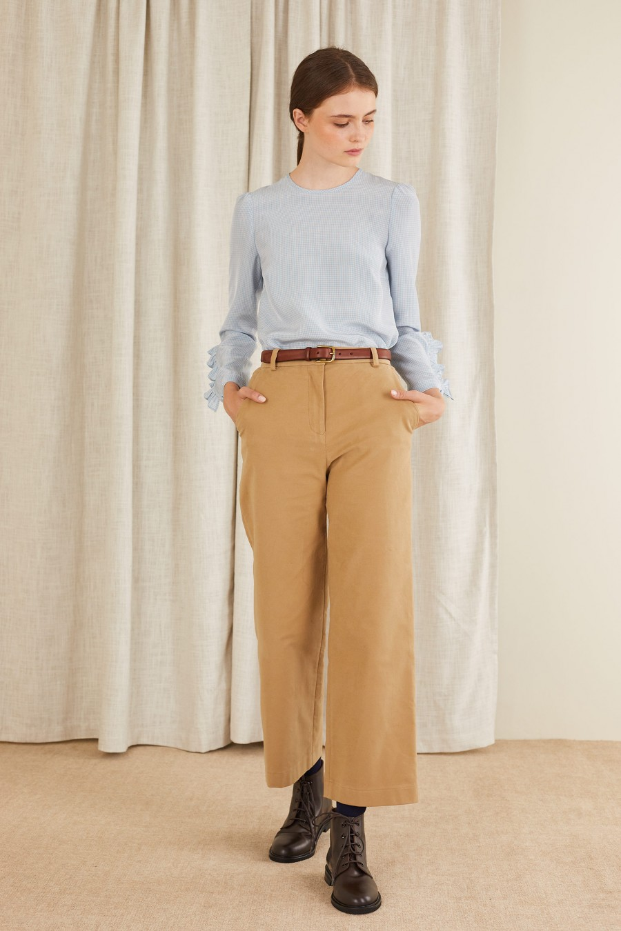 beige trousers for every occasion