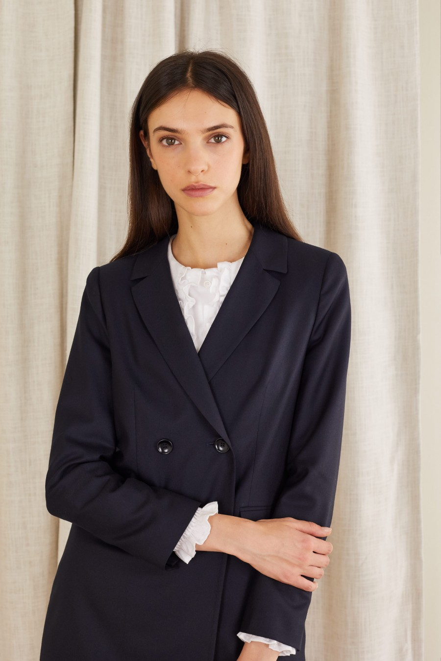 wool blazer made in italy