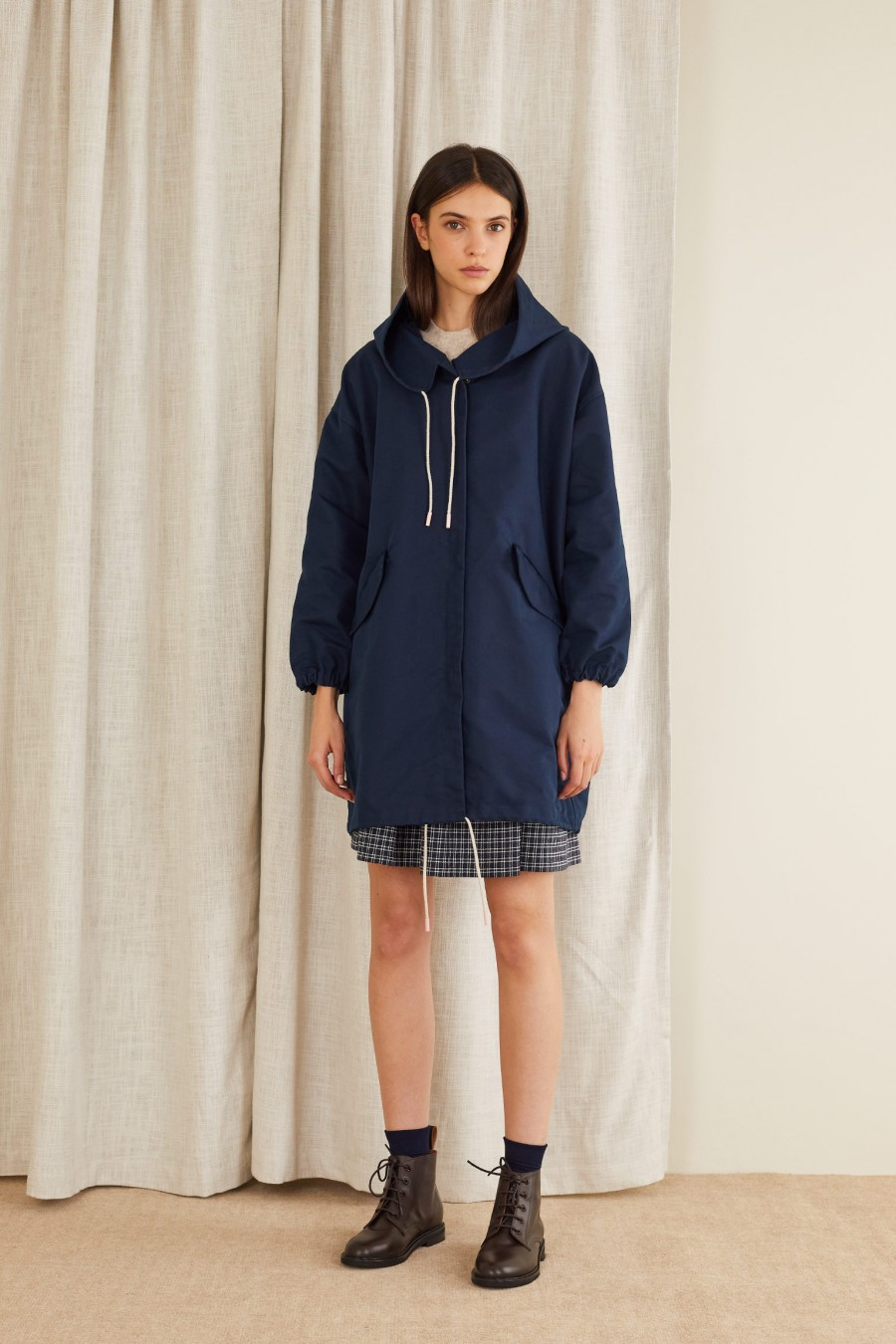 top quality parka with large pockets