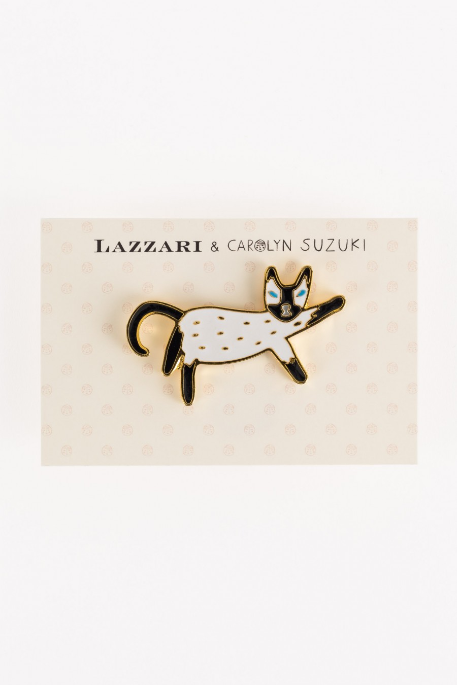 Cat pin - Carolyn Suzuki