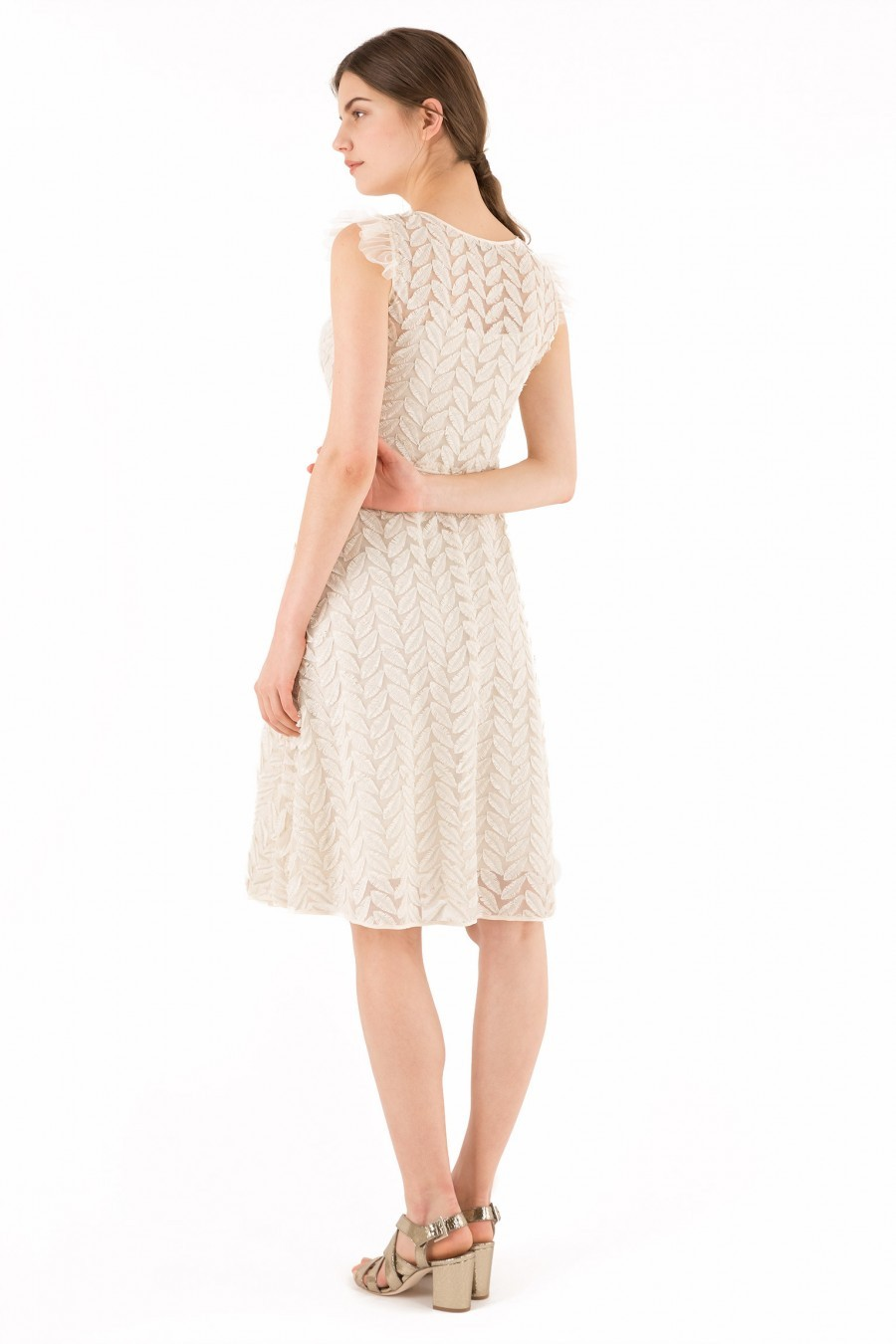 summer leaves dress Lazzari