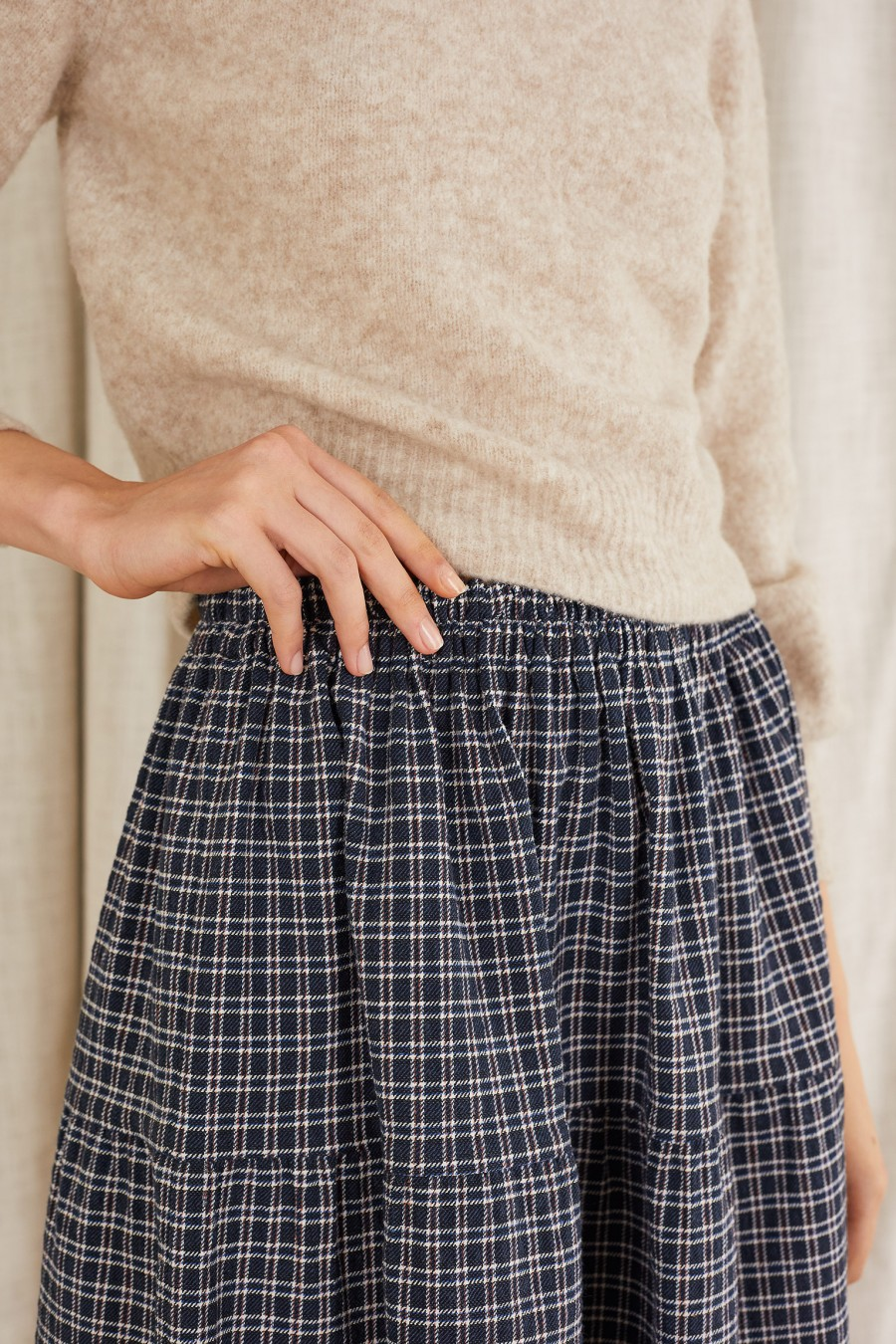 classic skirt for autumn