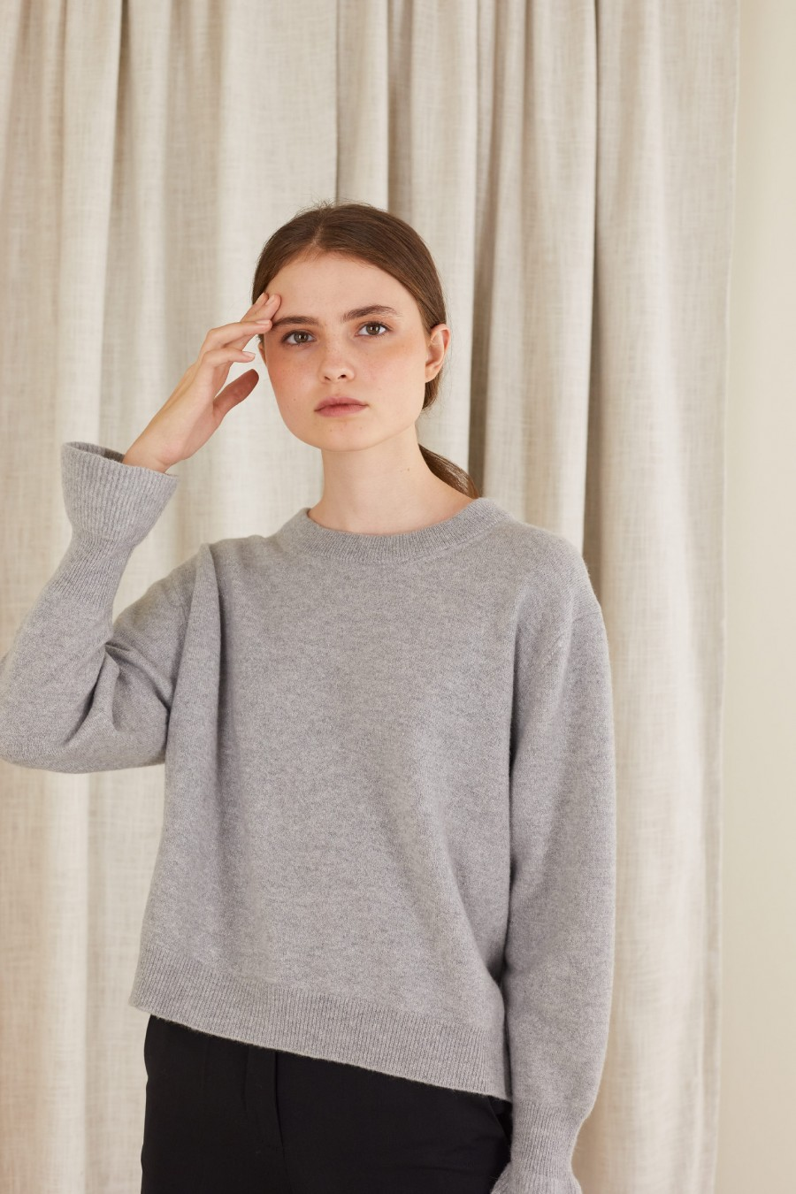 wool sweater made in italy