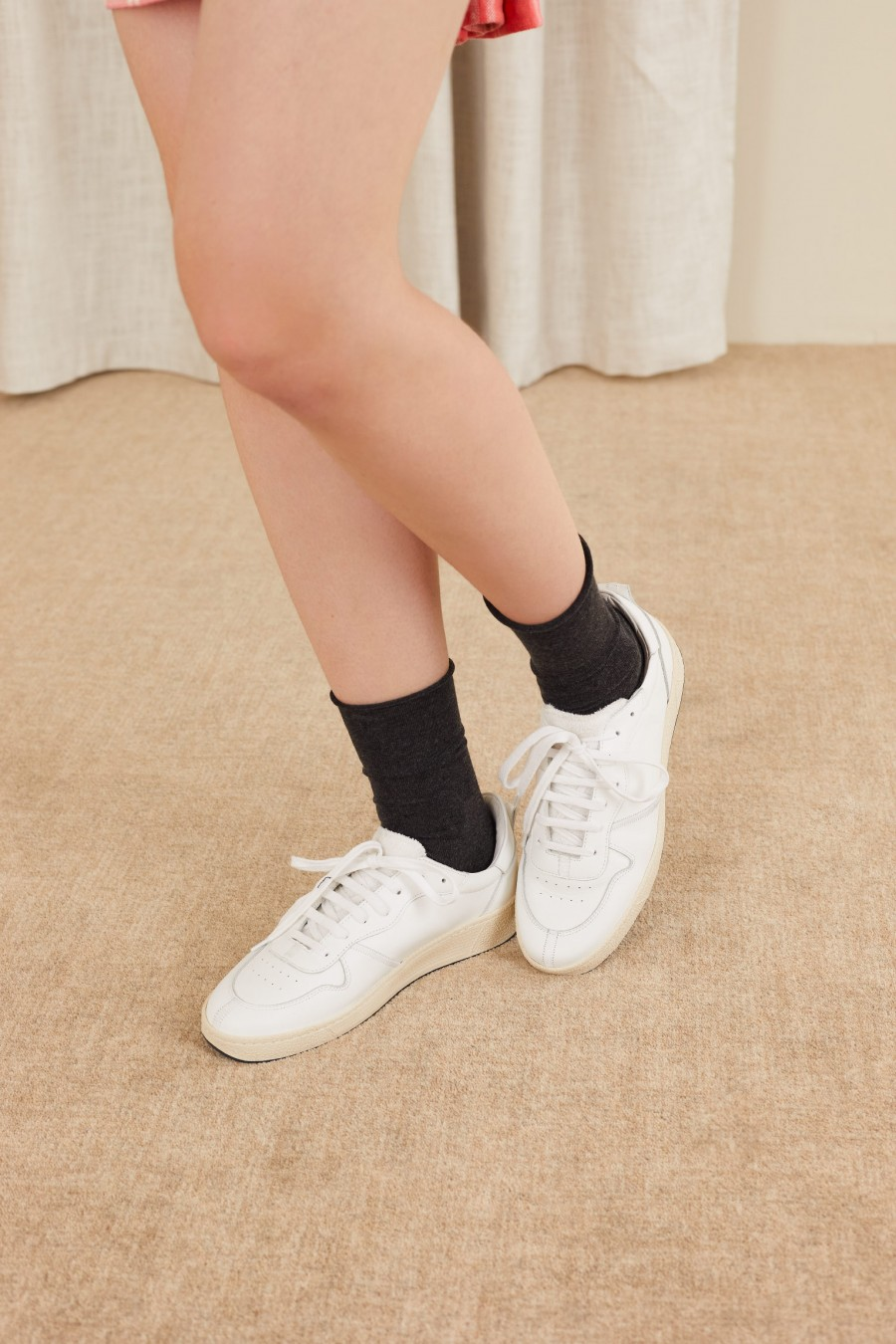 white sneakers made in italy