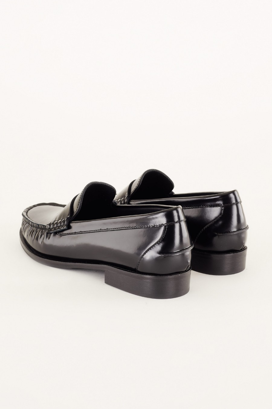 penny loafers neri