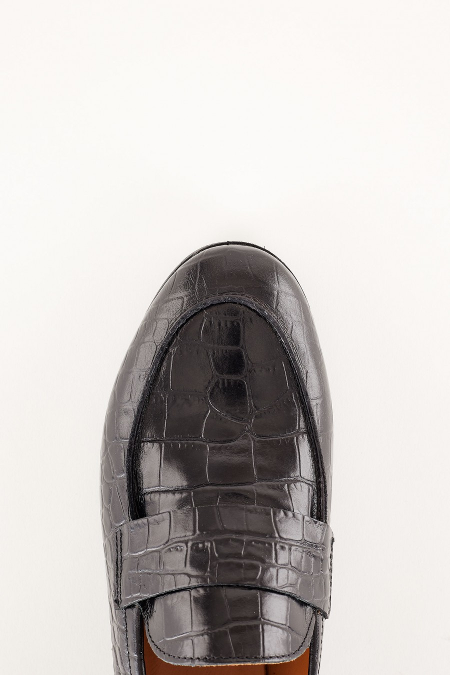 made in italy leather loafers