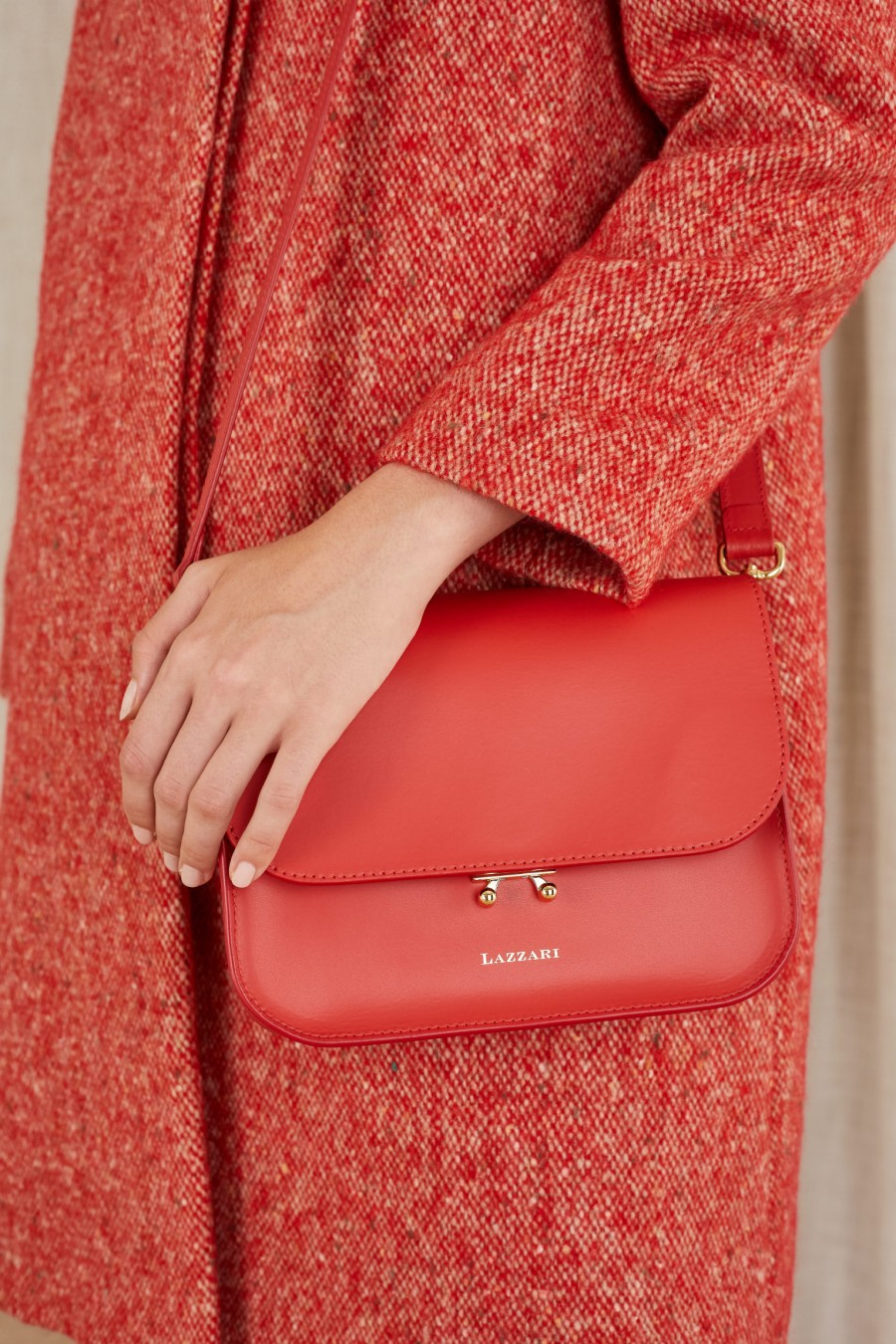 simple red bag