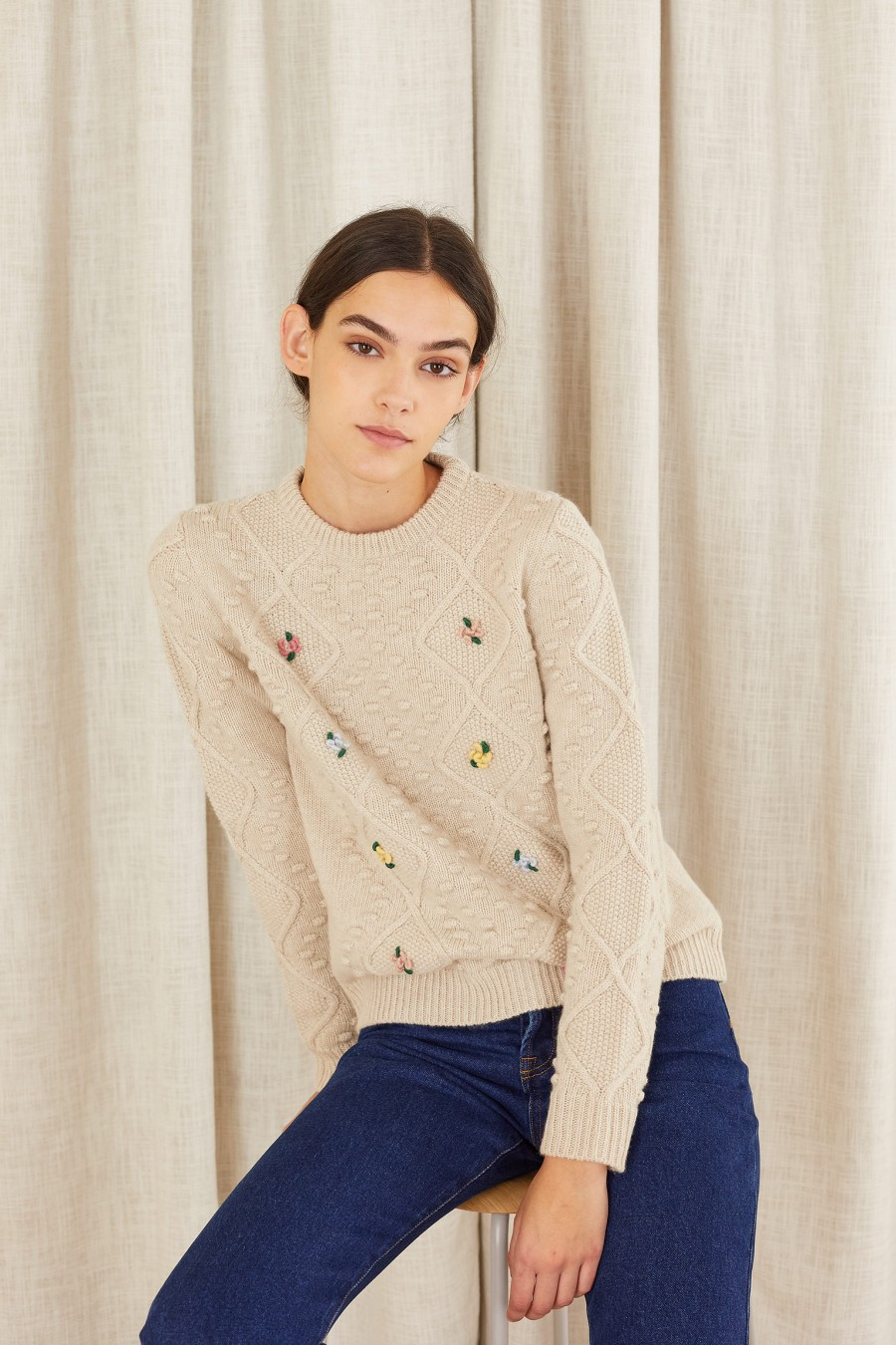 made in italy knitted jumper