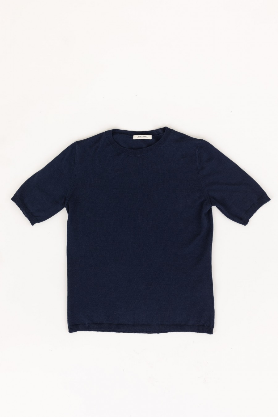 Blue wool t-shirt