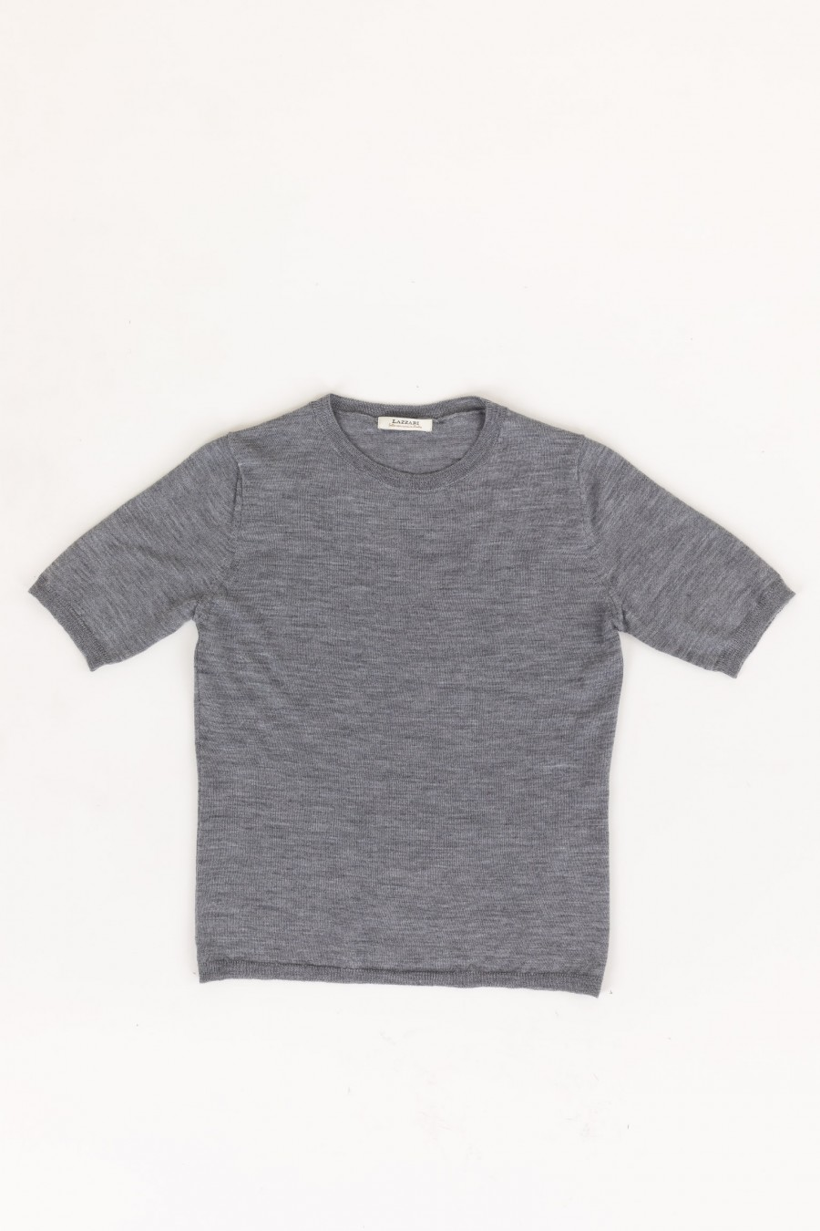 Grey wool t-shirt