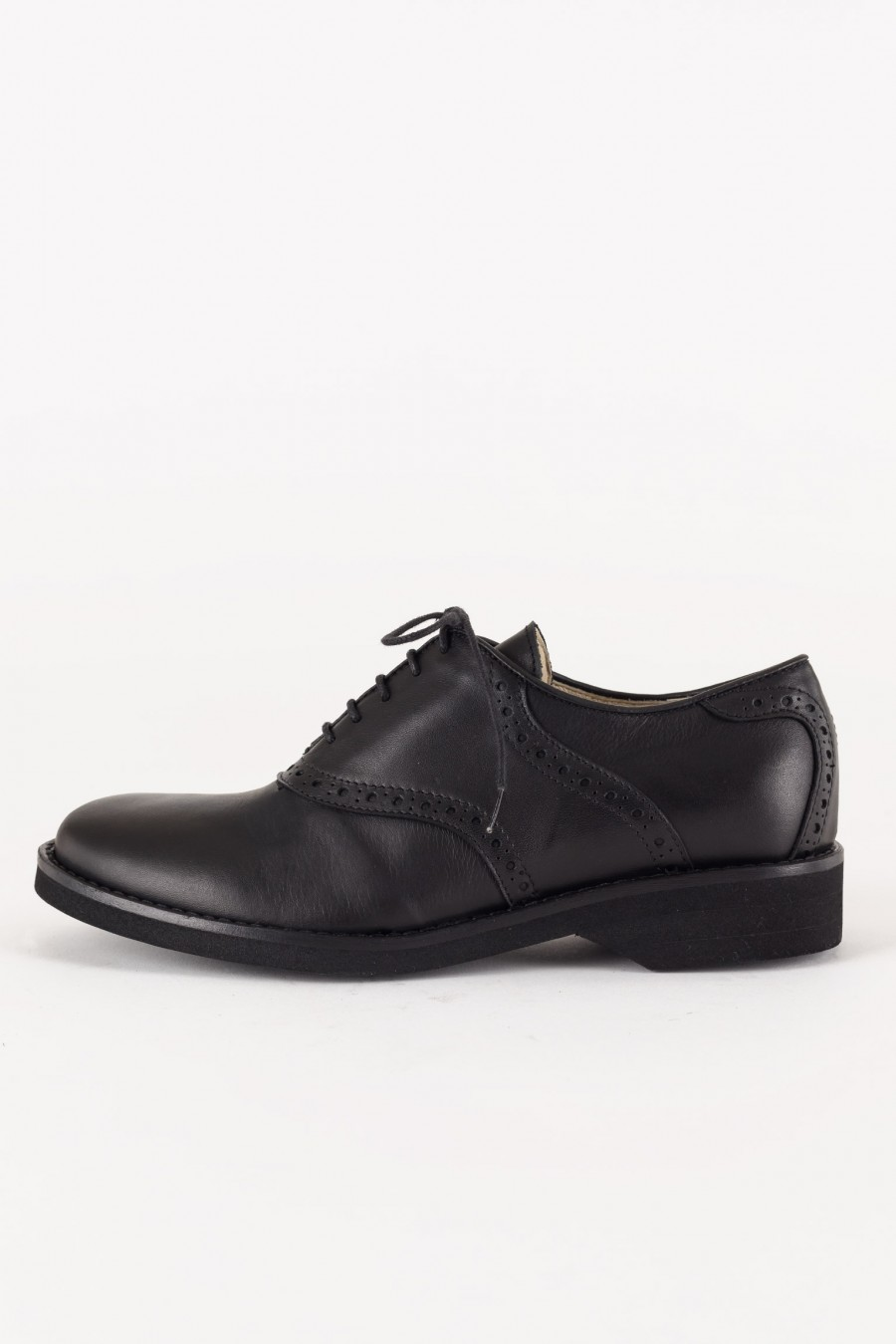 Black laced shoes