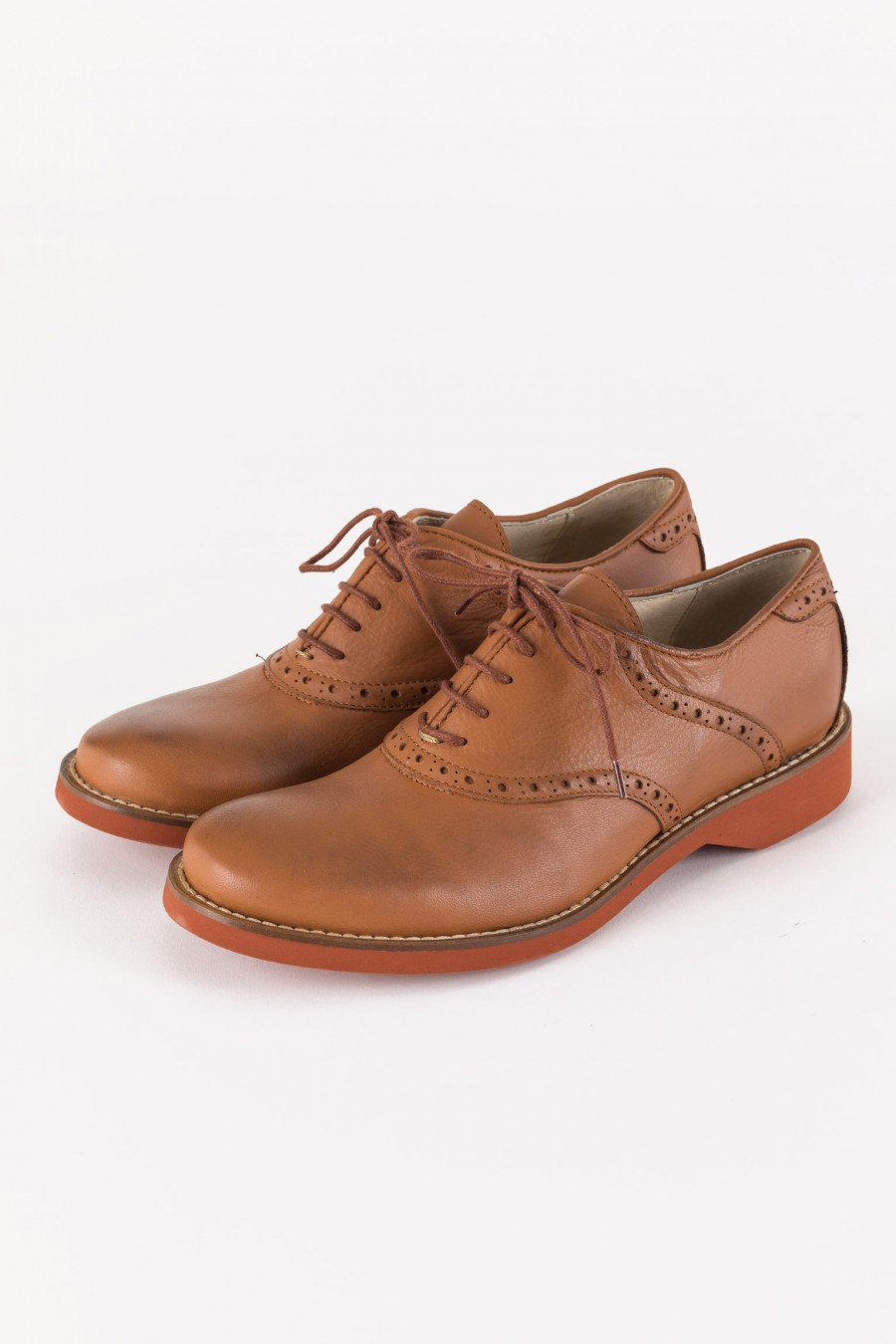 Derby shoes leather