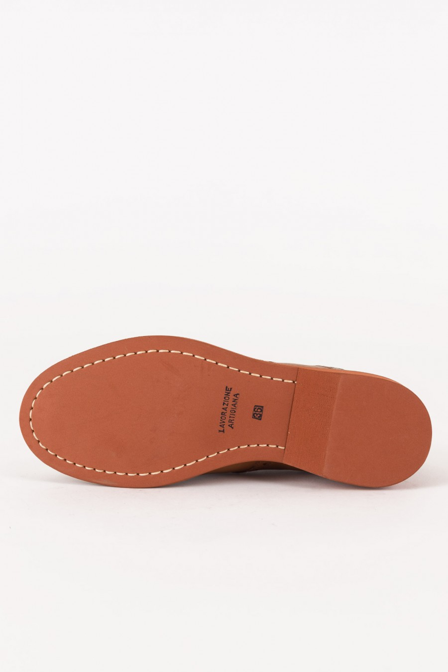 Brown shoes with rubber sole