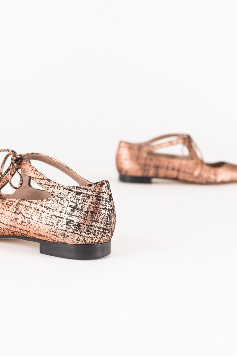 Pointed copper flats