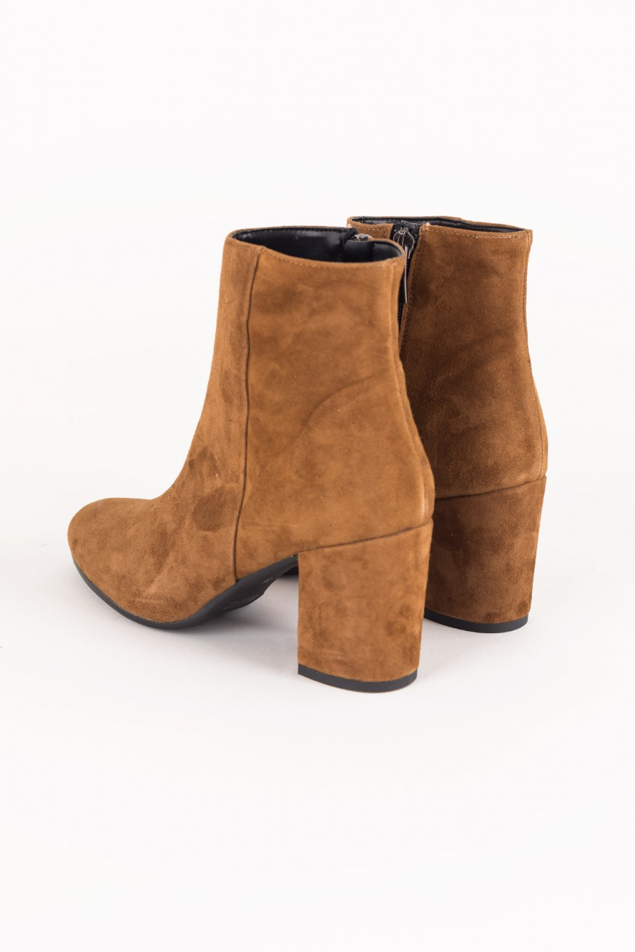 Boots with mid heels