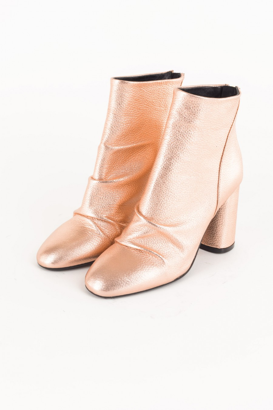 Rosegold boots
