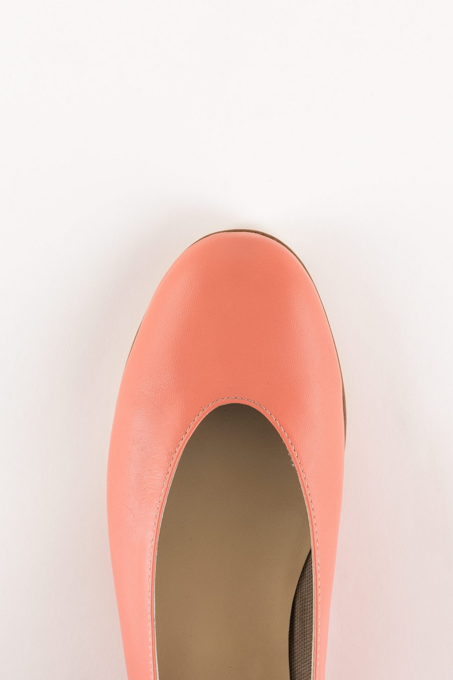 pink rounded shoes