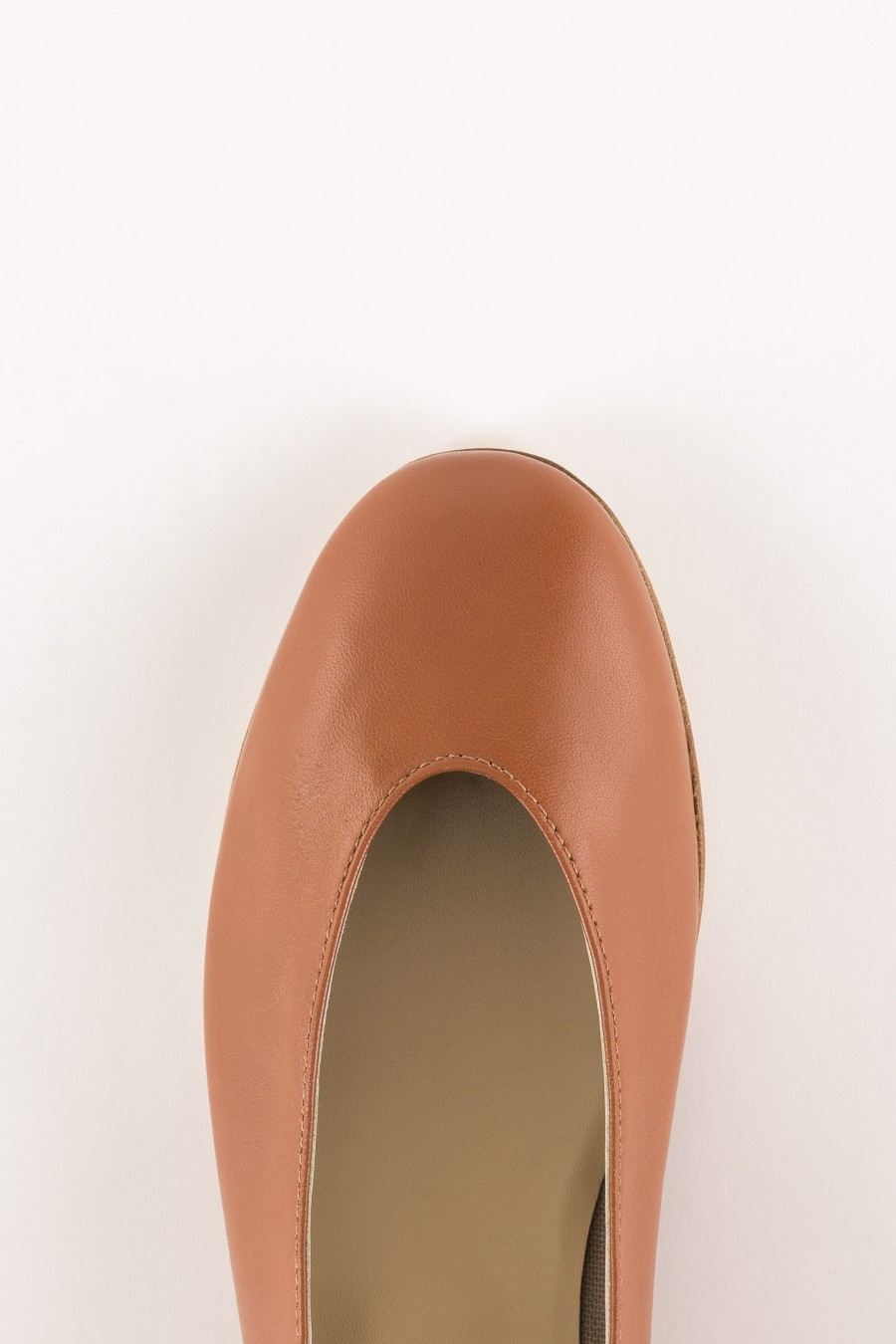 brown rounded shoes