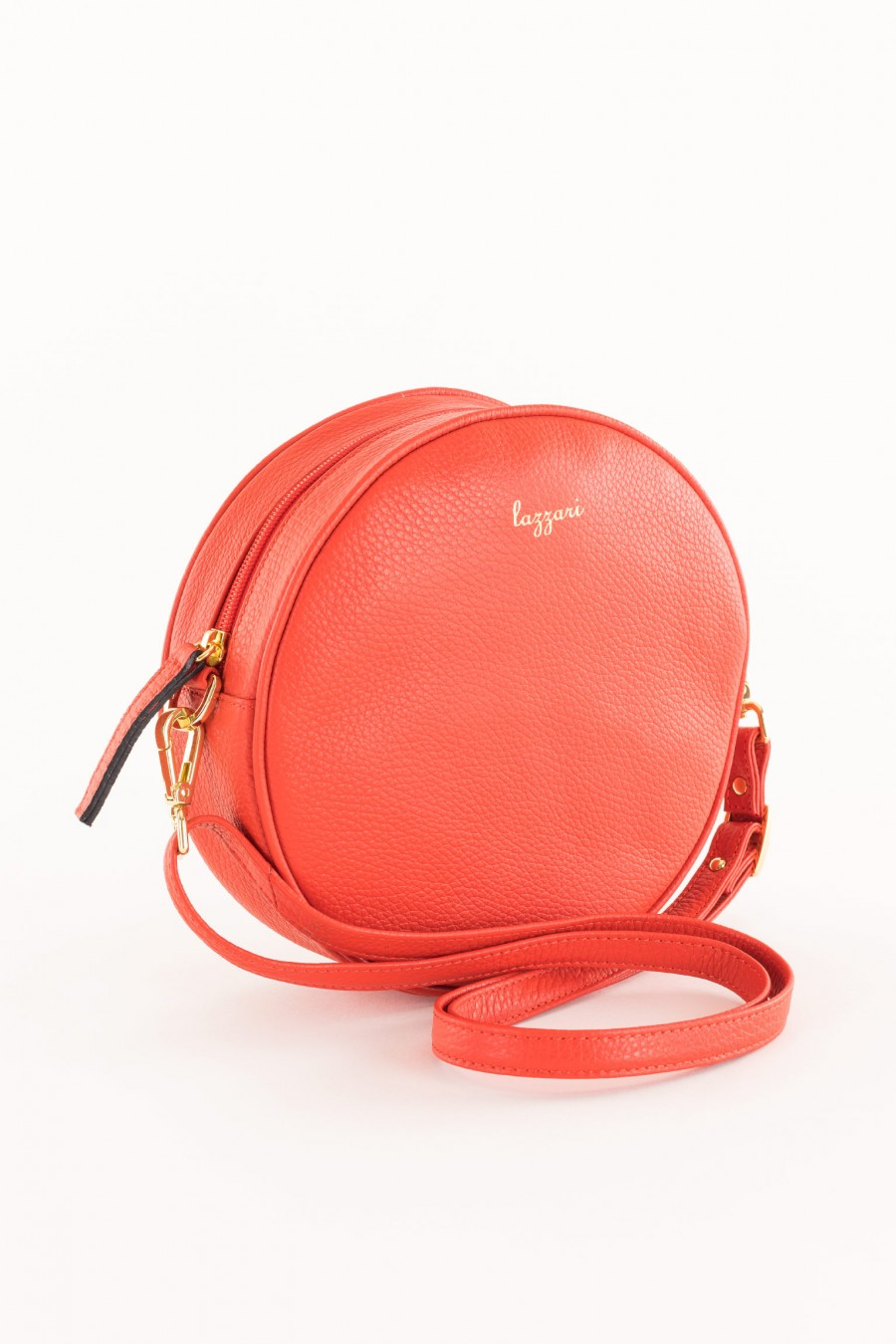 coral colored bag